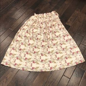 Endless Rose Skirts - Endless Rose Heart Vine Floral Maxi Skirt